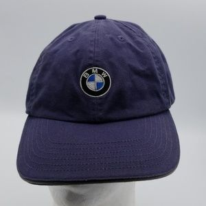 BMW blue cottin dad hat cap one size